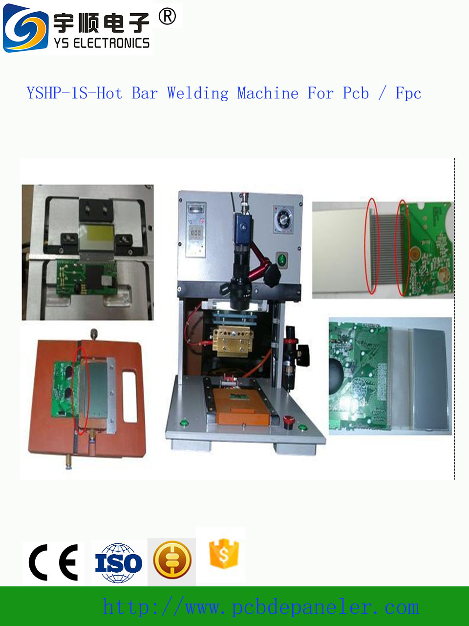 Automatic Pcb Soldering Machine Hot Bar Welding Machine For Pcb / Fpc