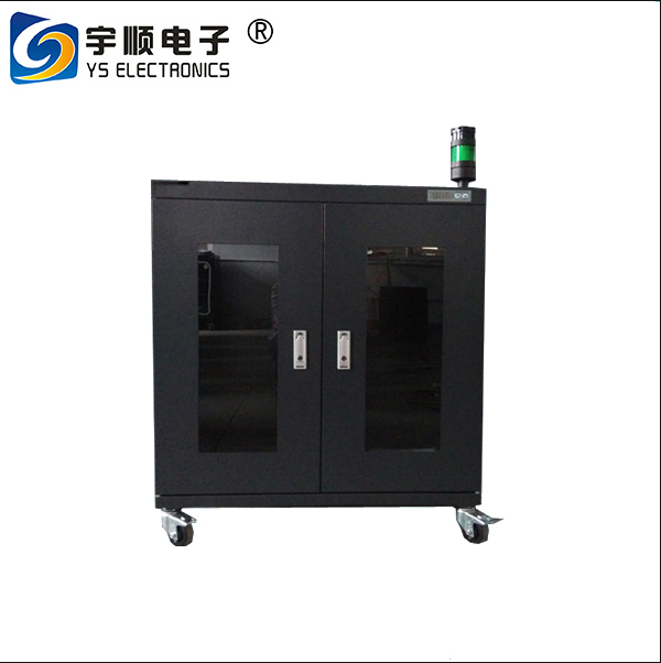YUSHUNLI directly factory-sale dry cabinet with alarm light tower for pcb/ic/smt