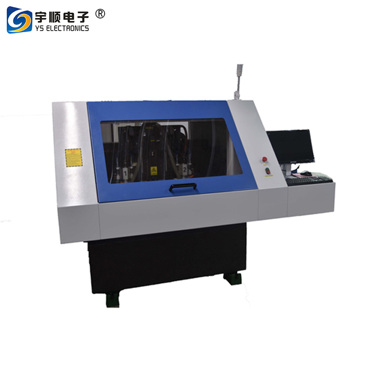 PCB Making Machine / Cheap 2 Spindle CNC Routing Machine PCB